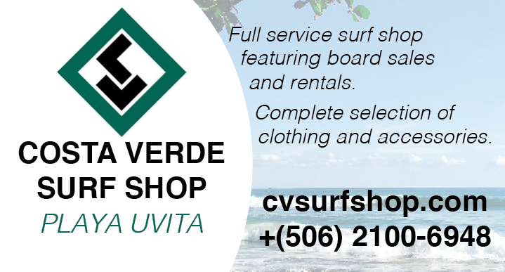 Costa Verde Surf Shop logo Uvita | Costa Pacifica Living