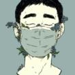 cartoon covid mask