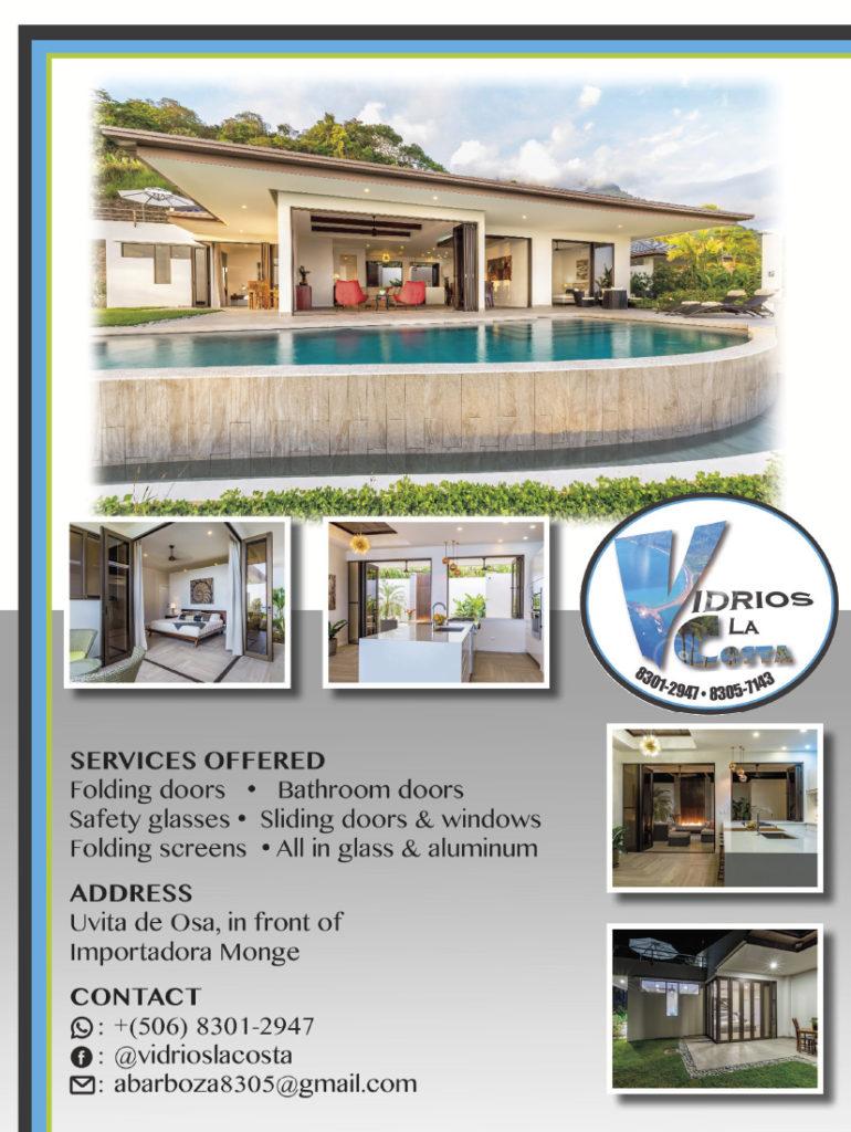 Vidrios La Costa Windows Uvita Costa Rica | Costa Pacifica LIVING
