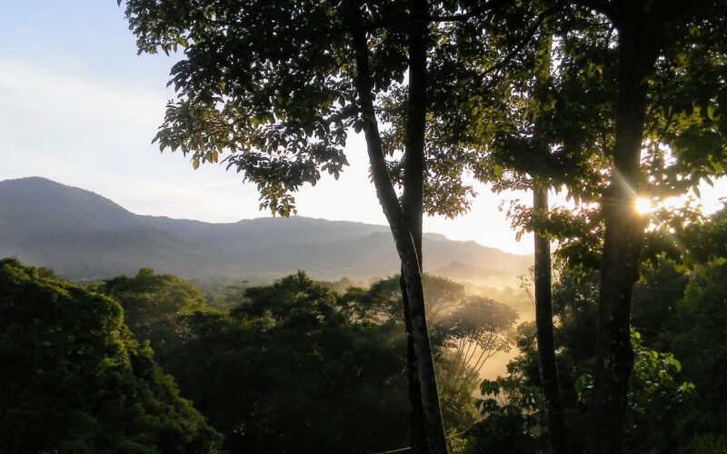 Costa Rica mountains in morning - Photo by Jesse Davies