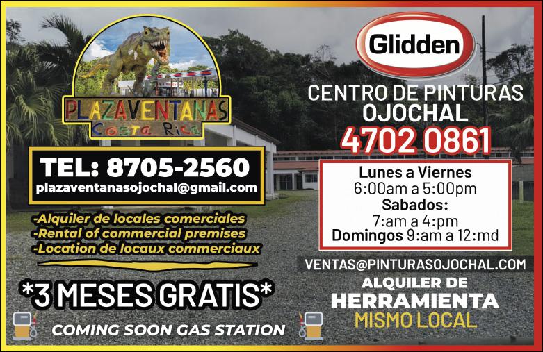 Plaza Ventanas Gas Station Ojochal Costa Rica