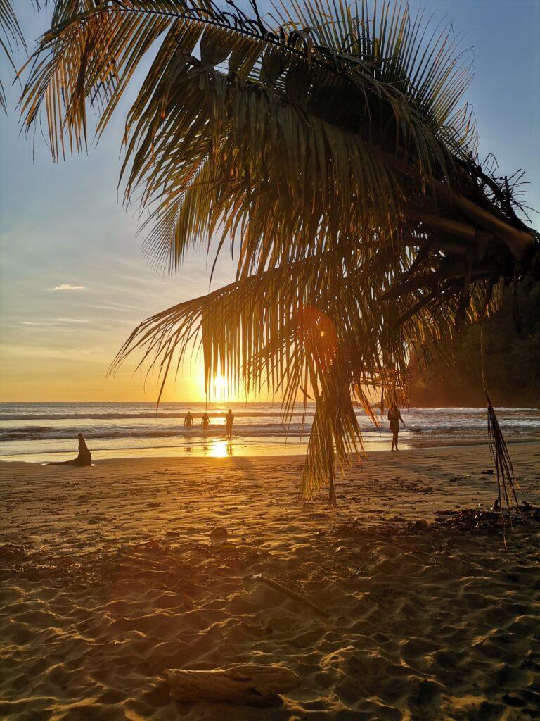 Playa Ventanas, Costa Rica at sunset - Photo by Nikki Whelan