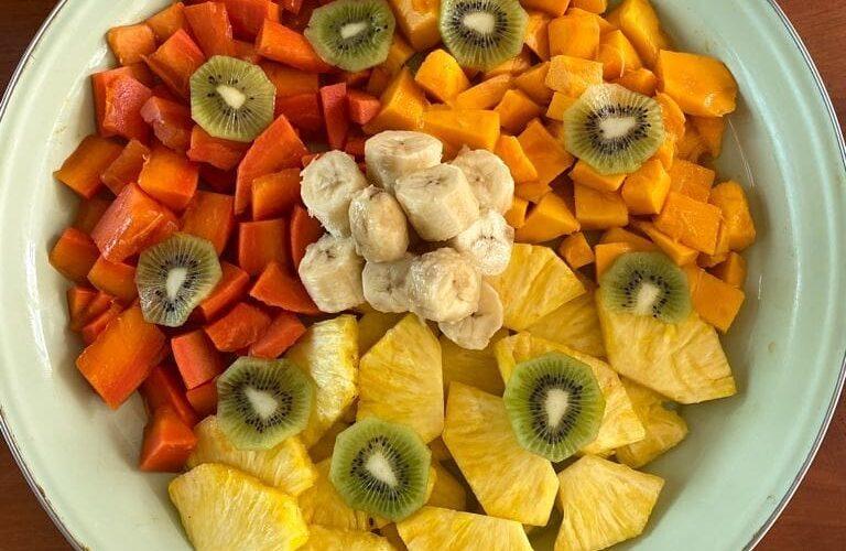 Breakfast fruit medley - Photo by Lura Shopteau