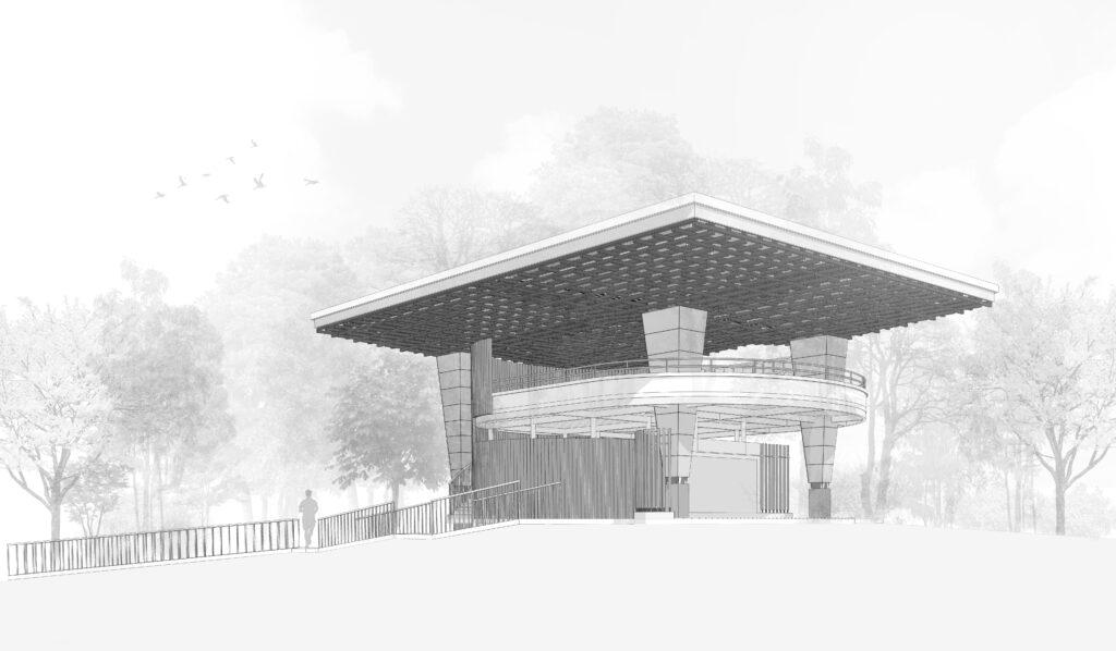 Akka Institute Sketch - Architectura Proponiendo Ideas en el Sur