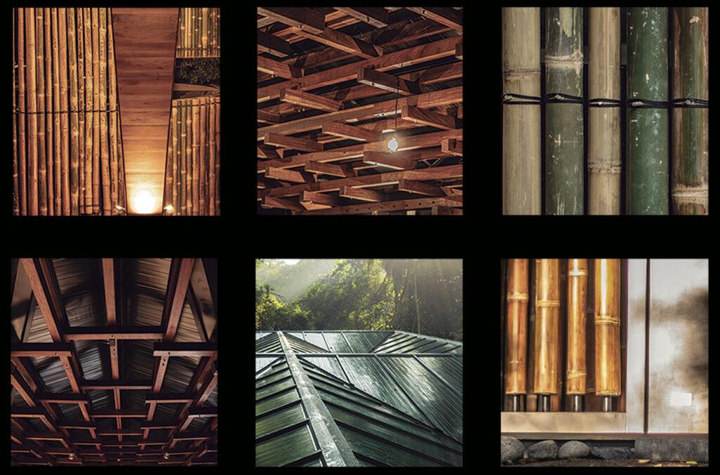 Various textures and building materials in Costa Rica - Architectura Proponiendo Ideas en el Sur